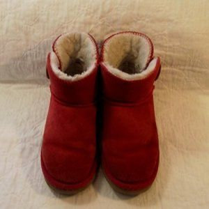 UGG New Zealand Boots Womens, Mini Baileys, Red
